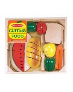 houten voedsel snijset 29 delig
