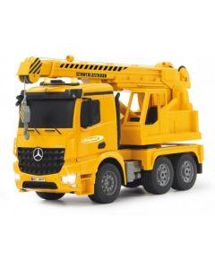 Mercedes Arocs kraan 2,4G 1:20 Bestuurbare vrachtwagen