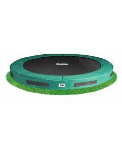 Inground premium trampoline - Groen (o 427 cm)