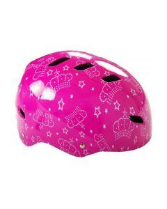 Fietshelm Pink Queen 55-57 cm roze