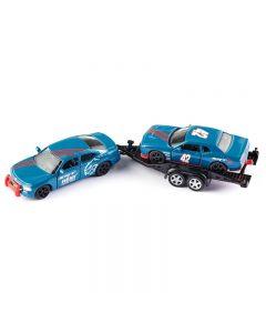 Dodge Charger met Dodge Challenger SRT Racing Siku
