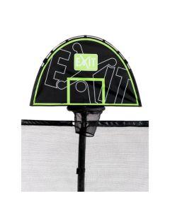EXIT trampoline basket Groen-Zwart
