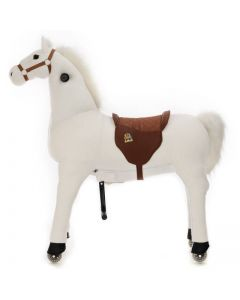 Large paard Snowy X-Large Wit