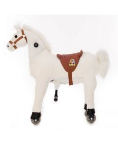 Paard Snowy Small Wit
