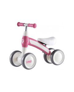 Q-Play Cutey Ride On loopfiets roze