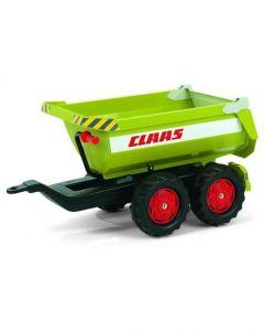Claas halfpipe trailer