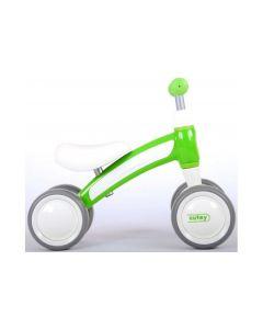 Q-Play Cutey Ride On loopfiets groen