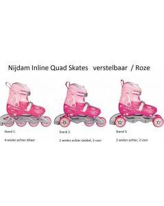 Inline Skates Quad Roze
