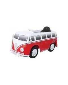 ACCU-AUTO Volkswagen Bus Rood Met Afstandsbediening 12V