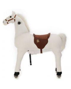 Paard Snowy Medium Wit
