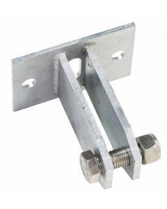 Kabelhouder voor vierkant hout
