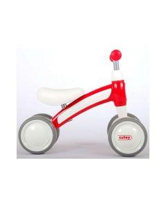 Q-Play Cutey Ride On loopfiets rood