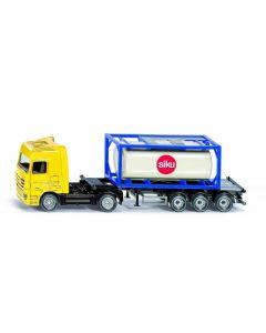 LKW met Tankcontainer