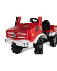 Unimog trapauto Brandweer