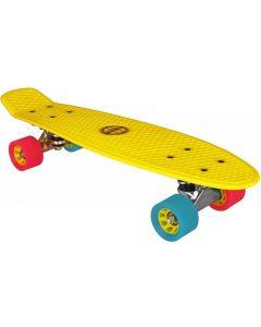 plastic skateboard geel