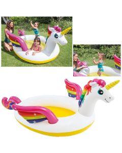 Rainbow Unicorn Pool 272x193x104