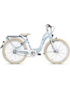 Kinderfiets Skyride 24 inch Aluminium light (Classic) Blauw 3 versnellingen