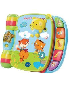 Baby Magisch Liedjesboek Roze - Interactief Muziekboek