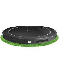 Inground premium trampoline - zwart (o 366 cm)