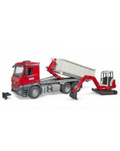 Vrachtwagen Met Container 03624