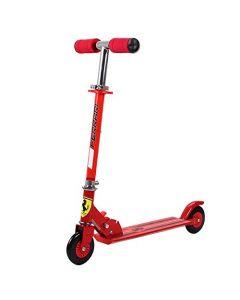 Ferrari Kids Twee Wiel Scooter Rood