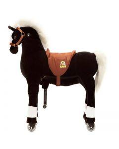 Paard Maharaja X-Large Zwart