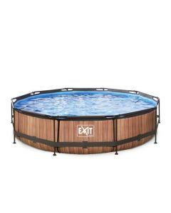 Frame Pool ø300x76cm (12v Cartridge filter) – Timber Style