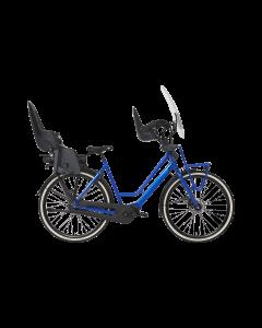 Dolce Vita E middenmotor familiefiets zomerblauw glans