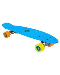 plastic skateboard blauw