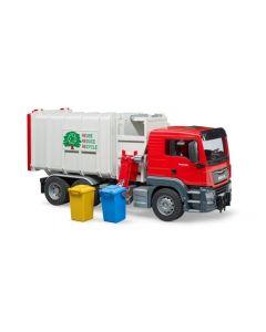 MAN TGS vuilniswagen (zijlader)