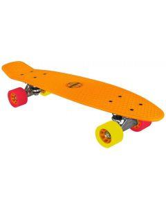 plastic skateboard oranje